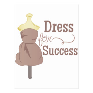Dress For Success Postcard
