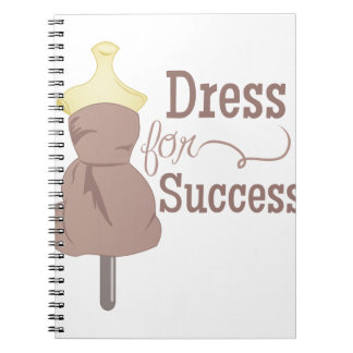 Dress For Success Spiral Note Book