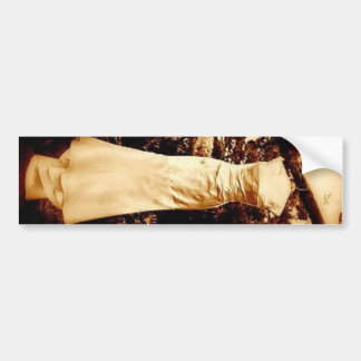 dress in woods bumper sticker