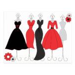 Dress Shop-Daisy Theme Post Cards