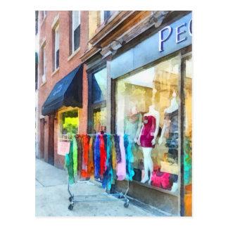 Dress Shop Hoboken NJ Postcard