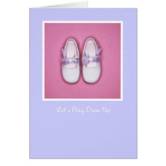 Dress Up Bridesmaid Card