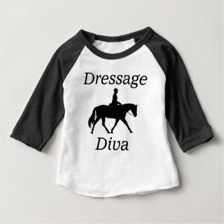 Dressage Diva Horse riding Baby T-Shirt