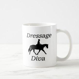 Dressage Diva Horse riding Coffee Mug