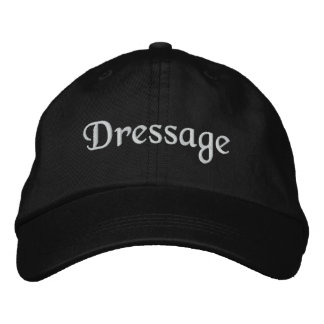 Dressage Embroidered Baseball Cap