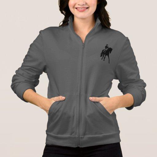 Dressage Fleece Zip Jogger Printed Jacket