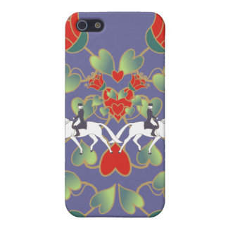Dressage Hearts and Flowers  iPhone 5/5S Cover