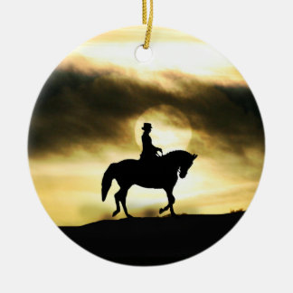Dressage Holiday Ornament