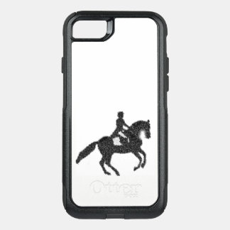 Dressage Horse and Rider Mosaic Design Phone Case