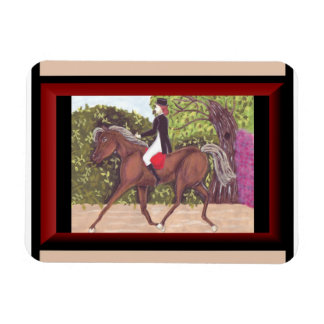 Dressage Horse English style riding magnet