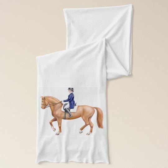 Dressage Horse Equestrian Scarf