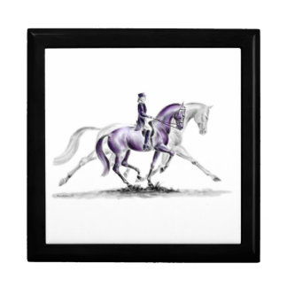 Dressage Horse in Trot Piaffe Gift Box