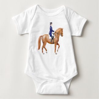 Dressage Horse Infant One Piece Baby Bodysuit