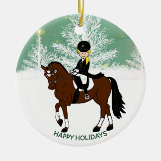 Dressage Horse Rider PHOTO Decoration Personalized