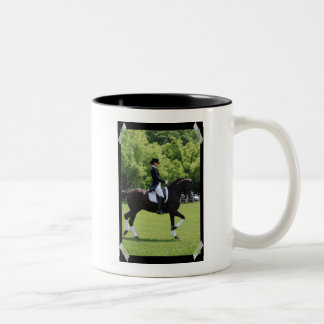 Dressage Horse Show Design Coffee Mug