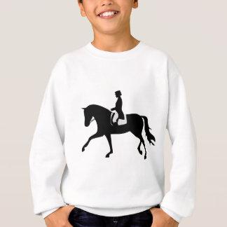 dressage horse sweatshirt