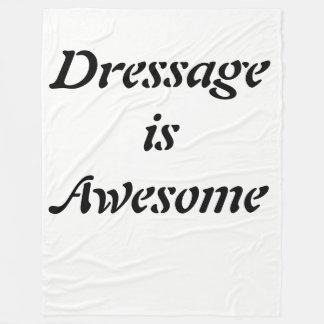 Dressage is Awesome Fleece Blanket