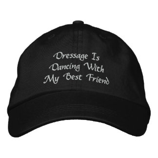 Dressage Is Dancing Embroidered Baseball Cap