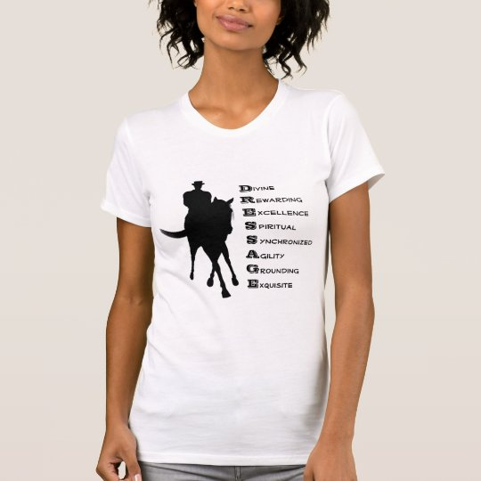 Dressage Is Horse Silhouette T-Shirt