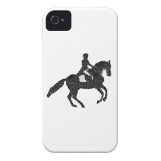Dressage Phone Case - Mosaic Horse and Rider