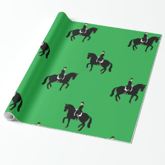 Dressage Piaffe Wrapping Paper