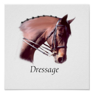 Dressage Poster