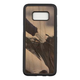 Dressage Rider, cherry wood Carved Samsung Galaxy S8 Case