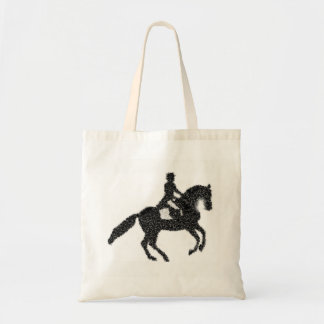 Dressage Tote  - Horse and Rider Mosaic Design