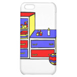 dresser primary colored iPhone 5C cover