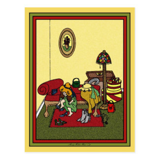 Dressing Room  Postcard - Customized