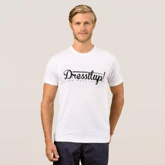 Dressitup! Los Angeles Logo Men's White T-shirt