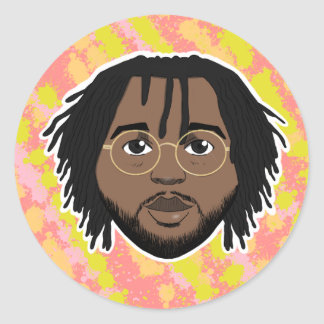 Drew Drew Avatars Classic Round Sticker
