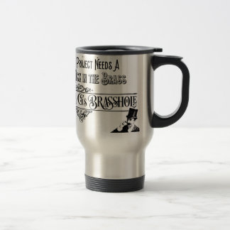DrGsBrasshole Travel Mug