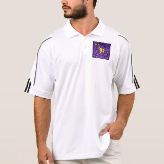 Dri-fit purple 25yr polo shirt