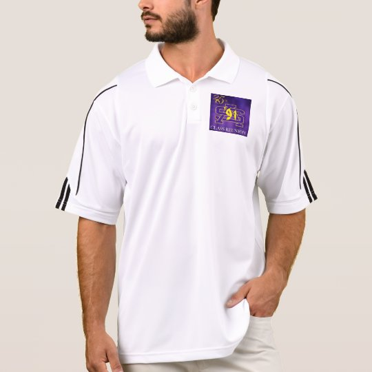 Dri-fit purple 25yr polo shirt