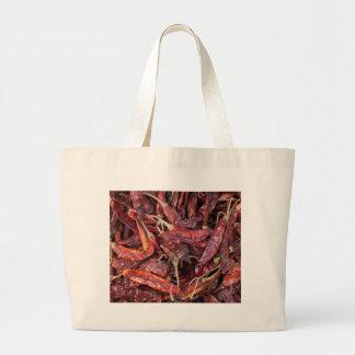 Dried Chili Peppers Jumbo Tote Bag