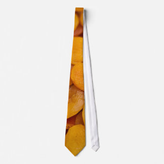 Dried cut apricot fruits tie