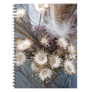 Dried flowers 1 notebook