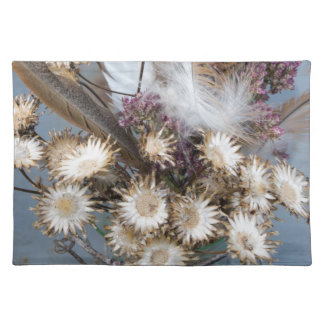 Dried flowers 1 placemat