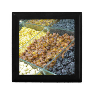 Dried fruit and nuts gift box