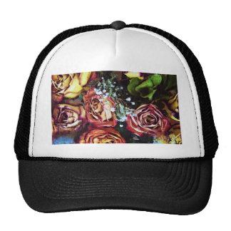 Dried Roses and Breath Trucker Hat