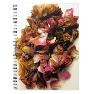 Dried Roses Notebook