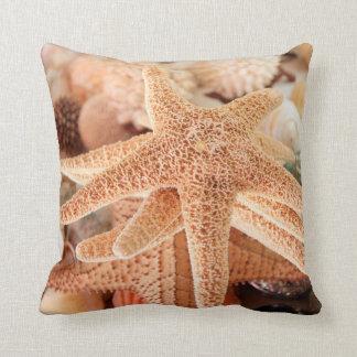 Dried sea stars sold as souvenirs 2 throw pillow