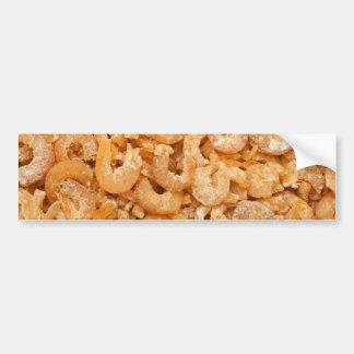 Dried shrimps bumper sticker