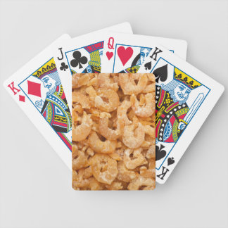 Dried shrimps poker deck