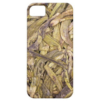 Dried tea leaves of Chinese green tea iPhone 5 Cover