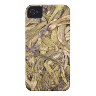 Dried tea leaves of Chinese green tea iPhone 4 Case