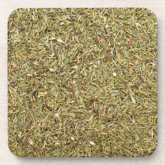 dried thyme texture coaster