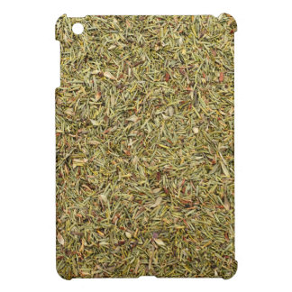 dried thyme texture iPad mini case