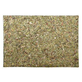 dried thyme texture placemat